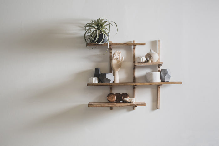 Mid-Century Wall Shelf