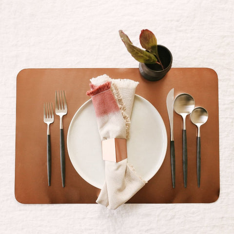 Metallic Place Mats - Set of 4 - Elizabeth Hales Design