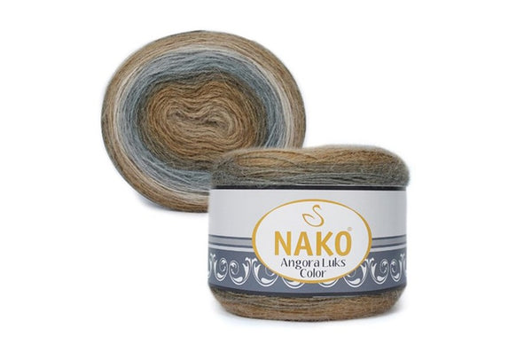 Nako Angora Lüks Color 81907
