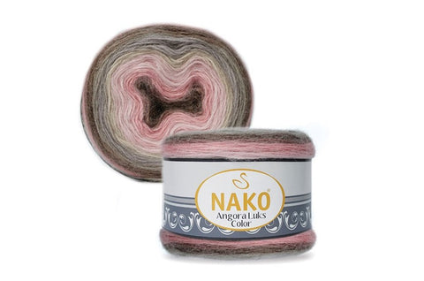 Nako Angora Lüks Color 81911