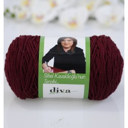 Diva İnce Cotton Makrome 999 Bordo