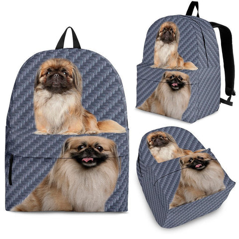Pekingese Dog Print Backpack-Express Shipping-Paww-Printz-Merchandise