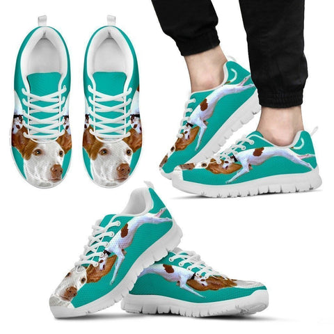 Ibizan Hound-Dog Running Shoes For Men-Free Shipping Limited Edition-Paww-Printz-Merchandise