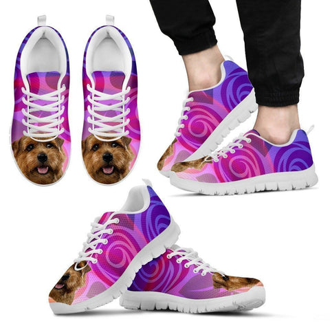 Norfolk Terrier Dog Running Shoes For Men-Free Shipping-Paww-Printz-Merchandise
