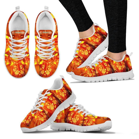 Maine Coon Cat (Halloween)-Women's Running Shoes-Free Shipping-Paww-Printz-Merchandise