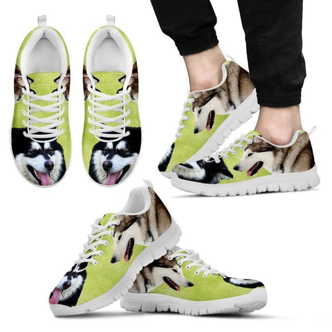 Alaskan Malamute Running Shoes For Men-Free Shipping Limited Edition-Paww-Printz-Merchandise
