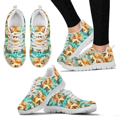 Afghan Hound Pattern Print Sneakers For Women- Express Shipping-Paww-Printz-Merchandise