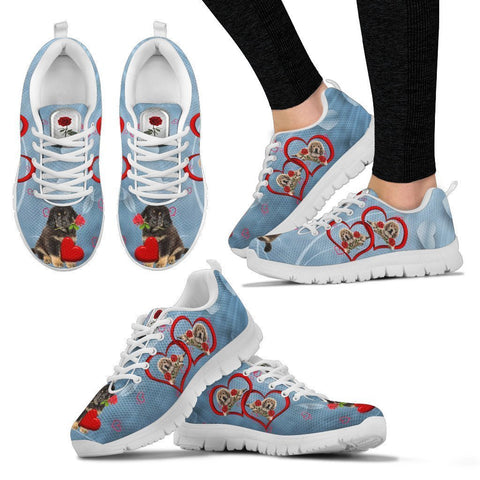 Valentine's Day Special-Tibetan Mastiff Print Running Shoes For Women-Free Shipping-Paww-Printz-Merchandise
