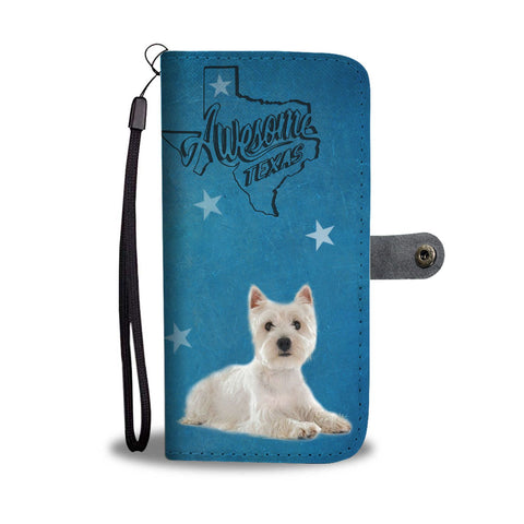 West Highland White Terrier (Westie) Print Wallet Case-Free Shipping-TX State