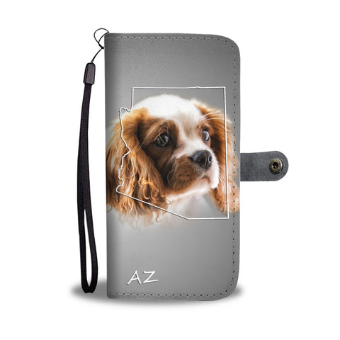 Cavalier King Charles Spaniel Print Wallet Case-Free Shipping-AZ State