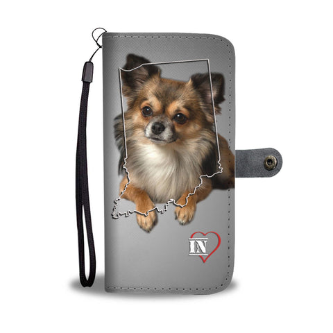 Cute Chihuahua Print Wallet Case-Free Shipping-IN State