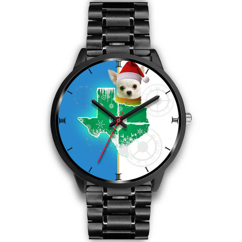 Chihuahua Texas Christmas Special Wrist Watch-Free Shipping