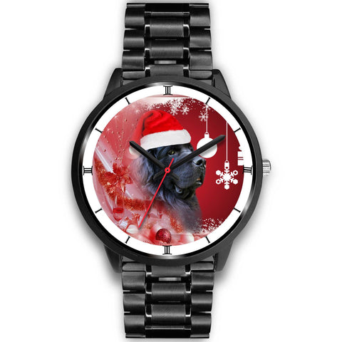 Newfoundland dog Christmas Special Wrist Watch-Free Shipping