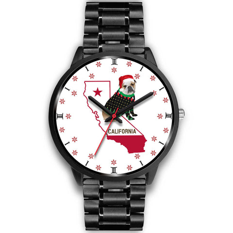 Bulldog California Christmas Special Wrist Watch-Free Shipping