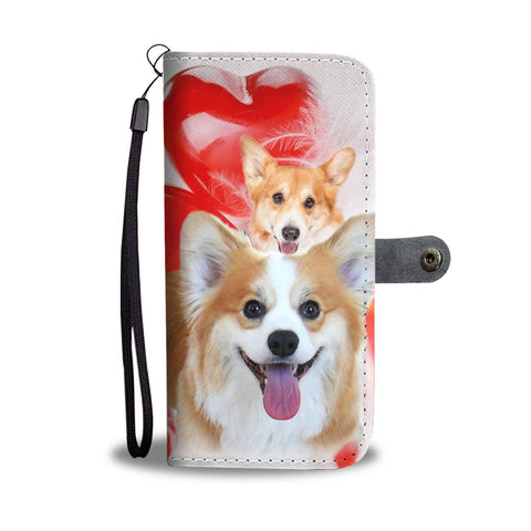 Pembroke Welsh Corgi Wallet Case- Free Shipping