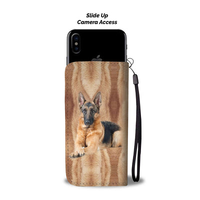 Amazing German Shepherd Dog Print Wallet Case-Free Shipping - Home Resources USA