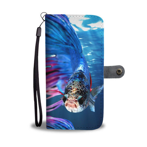 Amazing Fish Print Wallet Case-Free Shipping