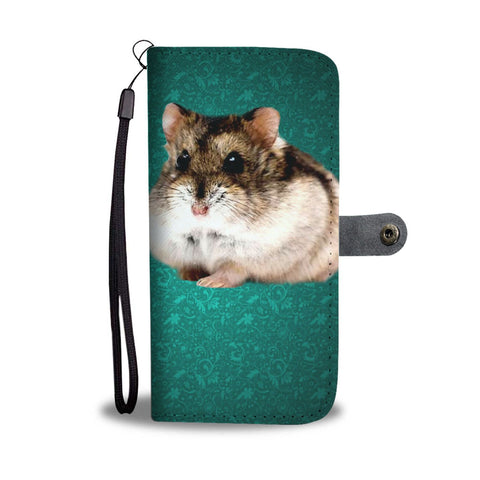 Campbell's Dwarf Hamster Print Wallet Case-Free Shipping