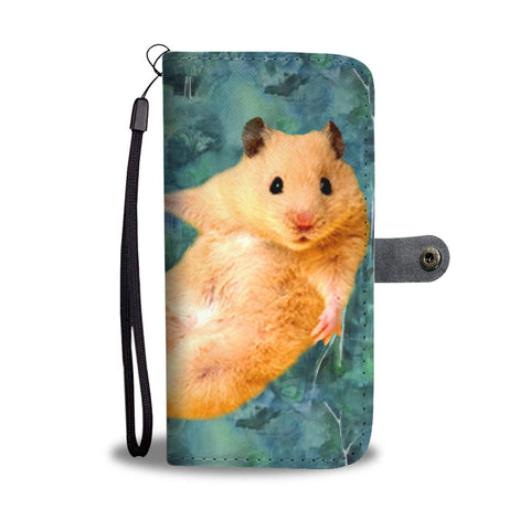 Golden Hamster (Syrian Hamster) Print Wallet Case-Free Shipping