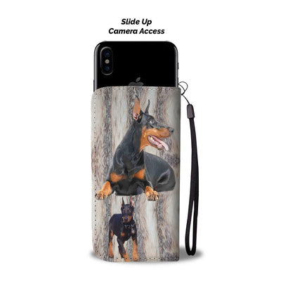 Amazing Doberman Pinscher Dog Print Wallet Case-Free Shipping - Home Resources USA