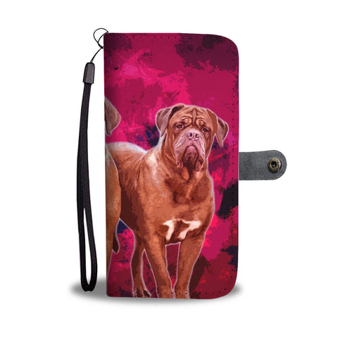 Dogue De Bordeaux Wallet Case- Free Shipping