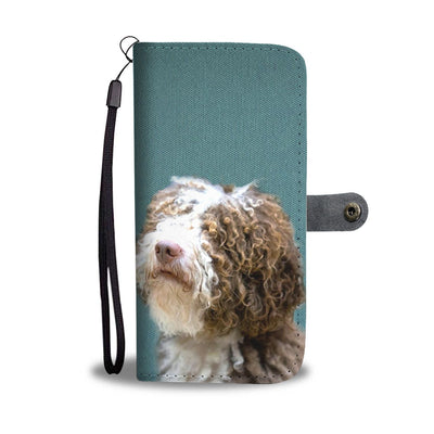 Amazing Spanish Water Dog Pattern Print Wallet Case-Free Shipping - Home Resources USA