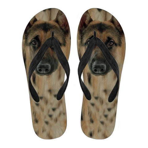 German Shepherd Flip Flops For Women- Free Shipping-Paww-Printz-Merchandise