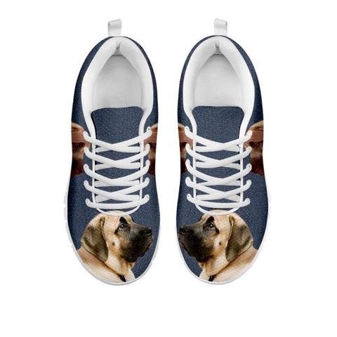 Amazing English Mastiff Print Running Shoes For Women-Free Shipping-For 24 Hours Only-Paww-Printz-Merchandise