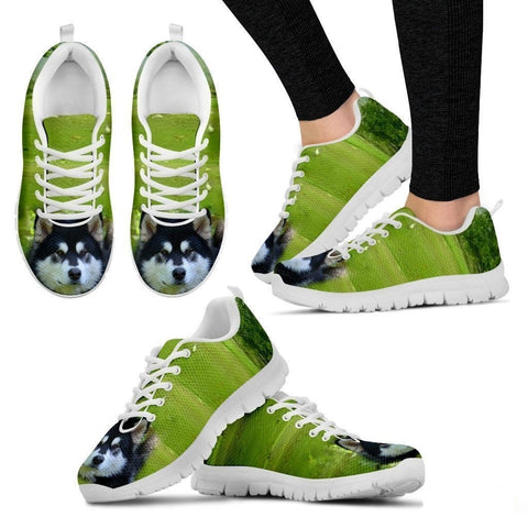 'Alaskan Dog' Running Shoes Women's-3D Print-Free Shipping-Paww-Printz-Merchandise