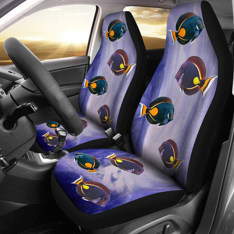 Acanthurus Achilles(Achilles Tang) Fish Print Car Seat Covers- Free Shipping