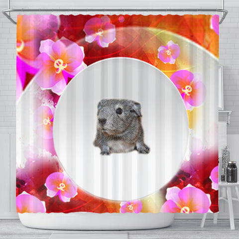 Guinea Pig Print Shower Curtain-Free Shipping