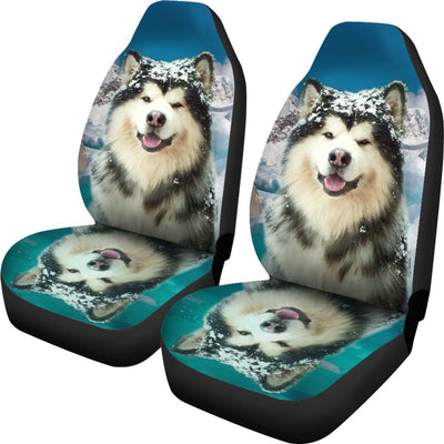 Alaskan Malamute Print Car Seat Covers- Free Shipping - Home Resources USA