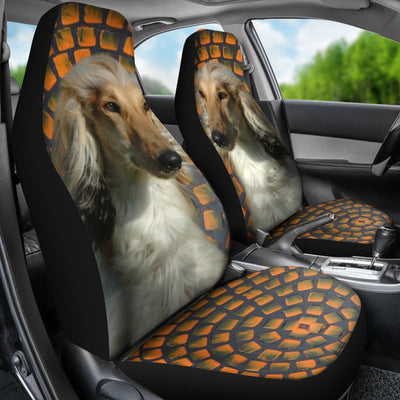 Afghan Hound Golden Print Car Seat Covers-Free Shipping - Home Resources USA