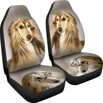 Afghan Hound Dog Print Car Seat Covers- Free Shipping - Home Resources USA