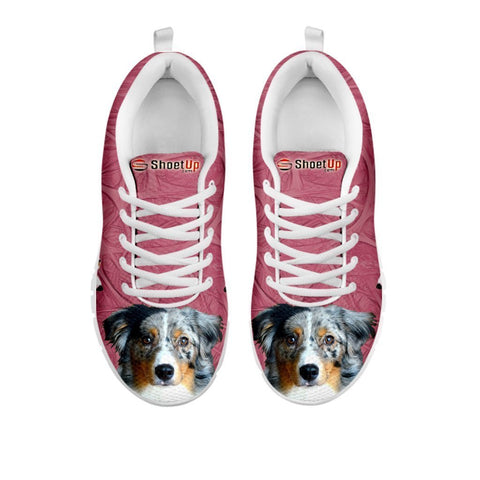 Amazing Miniature American Shepherd-Women's Running Shoes-Free Shipping-For 24 Hours Only-Paww-Printz-Merchandise