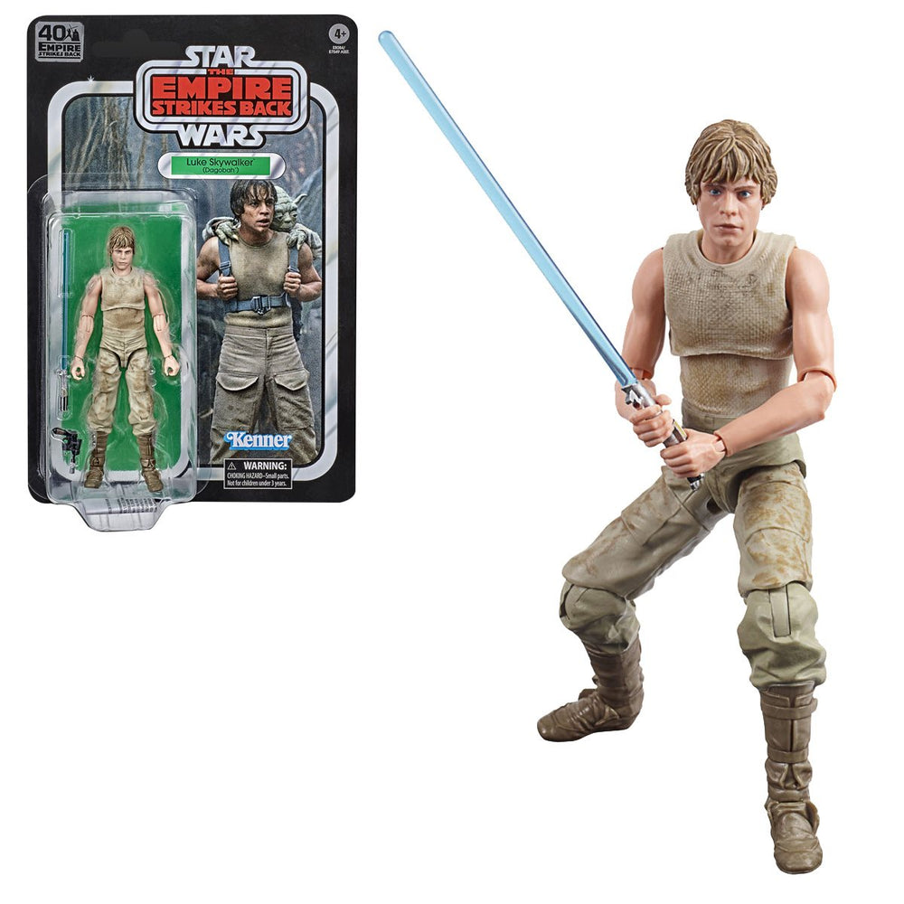 Hasbro: Star Wars The Black Series Empire Strikes Back 40th Anniversary 6-Inch Luke Skywalker Dagobah Action Figure