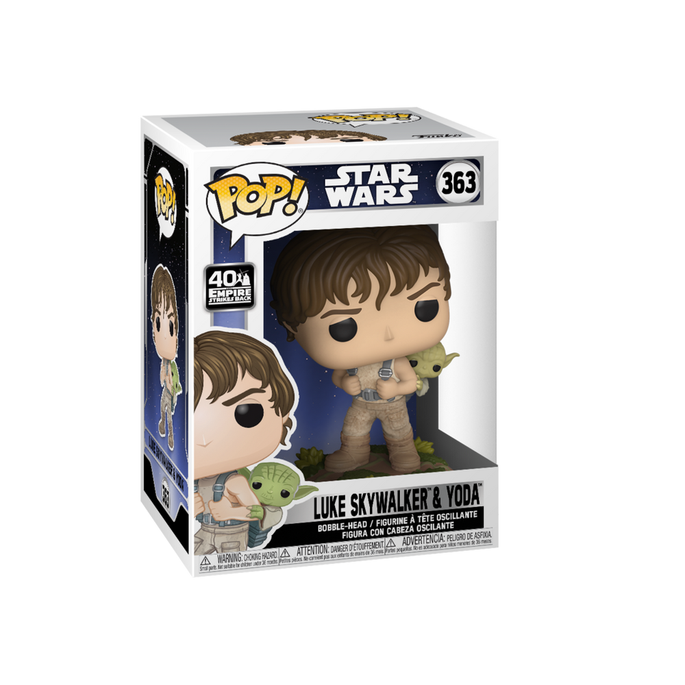 Pop! Star Wars: Empire Strikes Back - Luke Skywalker & Yoda