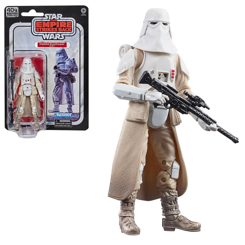 Hasbro: Star Wars The Black Series Empire Strikes Back 40th Anniversary 6-Inch Snowtrooper Action Figure