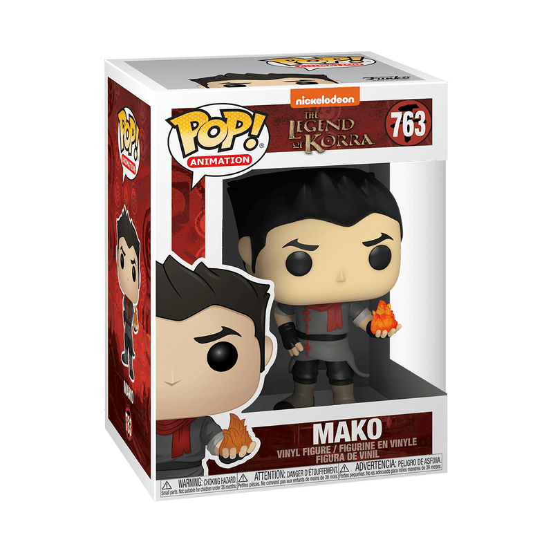 Pop! Animation: The Legend of Korra - Mako