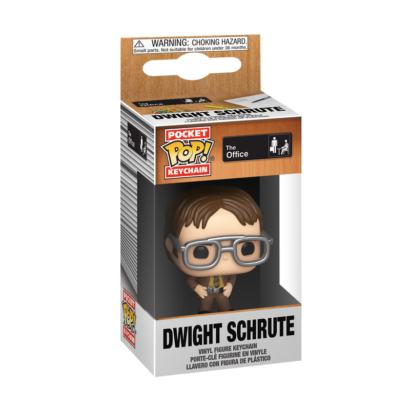 Pocket Pop! Keychain: The Office - Dwight Schrute