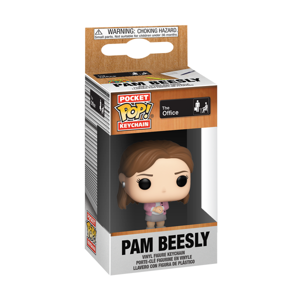 Pocket Pop! Keychain: The office - Pam Beesly