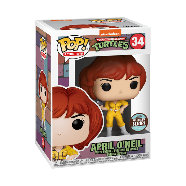 POP! Vinyl: TMNT - April O'Neil - Specialty Series Exclusive