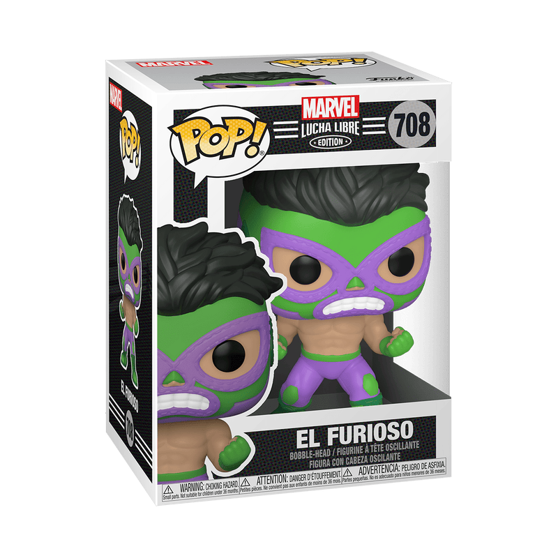 POP! Marvel Comics: El Furioso