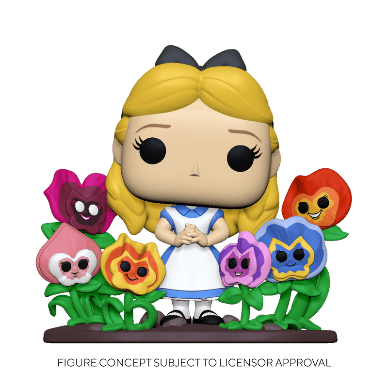 POP! Deluxe: Alice 70th– Alice w/ Flowers