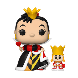 POP! & Buddy Disney: Alice 70th– Queen of Hearts with King
