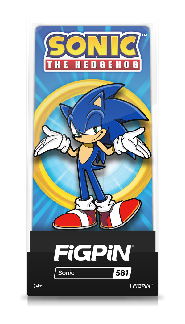 FiGPiN Classic:  Sonic The Hedgehog - Sonic