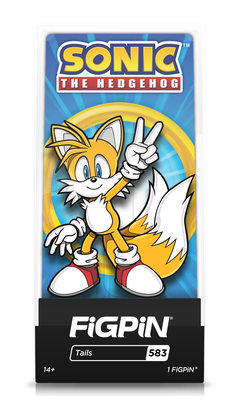 FiGPiN Classic:  Sonic The Hedgehog - Tails