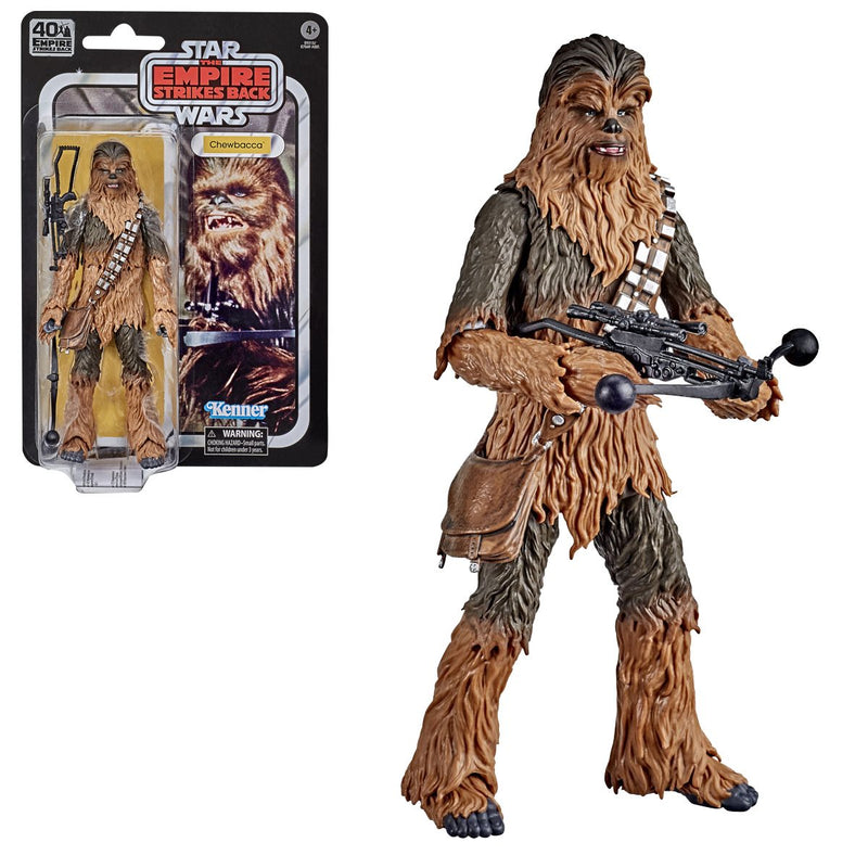 Hasbro: Star Wars The Black Series Empire Strikes Back 40th Anniversary 6-Inch Chewbacca Action Figure
