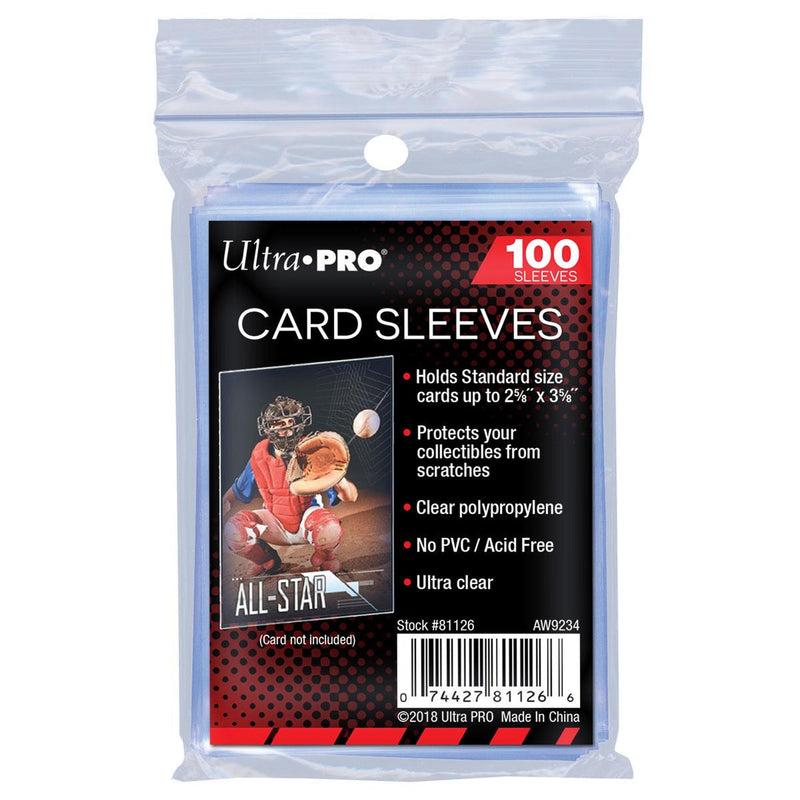 Ultra Pro Soft Card Sleeves (100 count pack)