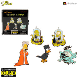 Simpsons Treehouse of Horror Pin Set
